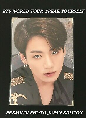 Bts Jungkook Love Yourself Speak Yourself Premium Photo Japan Edition Official