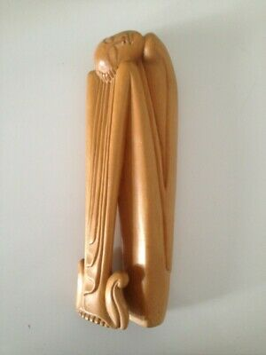 Rare Sculpture Femme Epoque Art Deco 1920/30 Indonesie