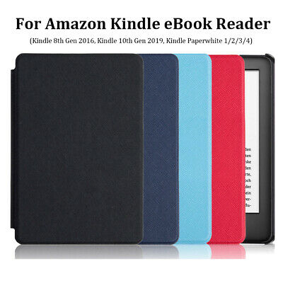 PU Leather Smart Case Cover For Amazon Kindle 8/10th Gen Paperwhite 1/2/3/4