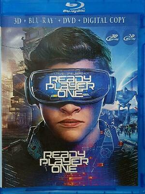 Ready Player One (2018) 3D BLURAY DVD (region code not required)