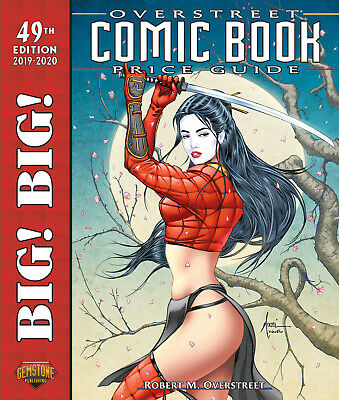 BIG! BIG! OVERSTREET 2019 2020 COMIC BOOK PRICE GUIDE VOL #49 SC Dealer Edition