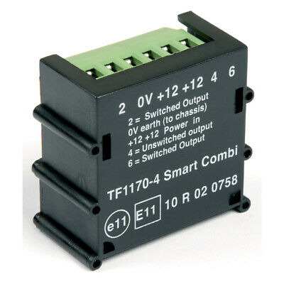 Ring Automotive RCT465 12V 22A Trailer Towing 12S Smart Combination Relay Single