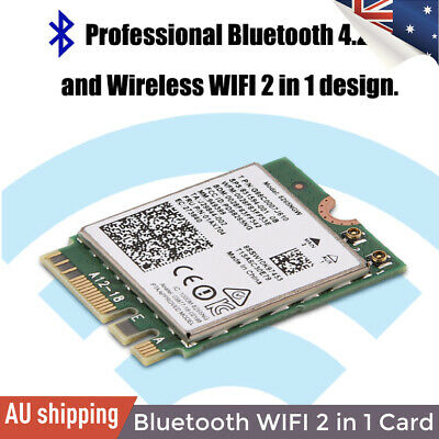 Mini WIFI Wireless NGFF/ M2 Card Bluetooth 4.2 + 2.4G/5G Dual-Band for PC/Laptop