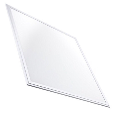 LED Atomant Panel LED Slim 40 W, Warm 3000 K, 3000 LM, White Frame, 60 x 60 cm