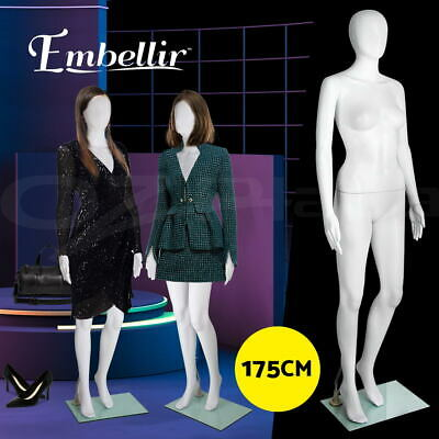 【20%OFF】Full Body 175cm Female Mannequin Head Hair Torso Clothes Display Dress