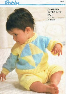 Robin Knitting Pattern 13714