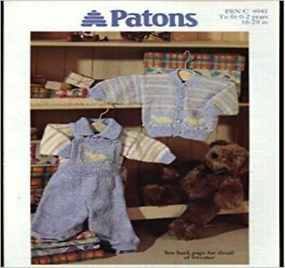 Patons Knitting Pattern 4941