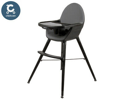 Childcare Bebe Care Pod Timber Highchair - Noir
