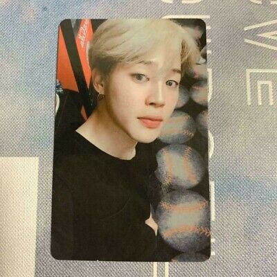 BTS JIMIN Official Photocard from Love Yourself World Tour New York Official