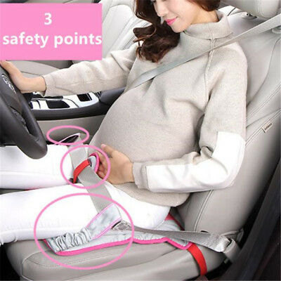 Pregnant Car Seat Cushion Safety Protection Belt Soft Breathable Pad Accessory