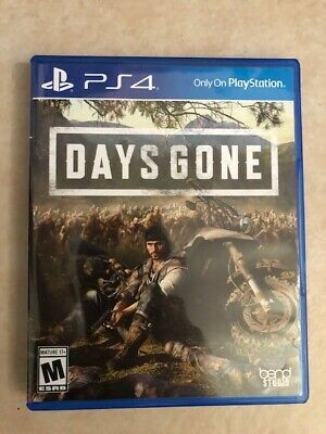 Days Gone Standard Edition PlayStation 4, Pre-Owned, Minimally used.