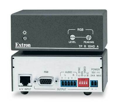 Extron TP R 15HD A Twisted Pair Receiver - New in Box w/ all Parts & Accessories
