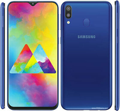 Samsung M20 Dual Sim SM-M205F/DS Unlocked 32GB Smartphone 4G LTE Various Colours