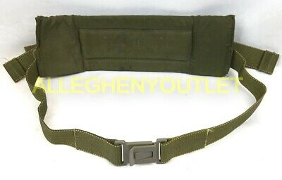 US Military ALICE LC-2 Waist Belt / Kidney Pad OD Green w/ Black Buckle GC