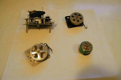ELECTRIC CLOCK MOVEMENTS lot of 4 * no make see photos as found used