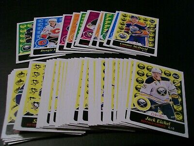 2015/16 UD Series 2 Complete Set of 50 Retro O-Pee-Chee Update Cards w/Rookies