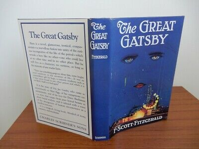 The Great Gatsby by F. Scott Fitzgerald First Edition Library facsimile ed FINE