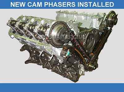 Reman 04-14 Ford 5.4 3 Valve Long Block Engine ( 3v ) w/ New Updated Cam Phasers