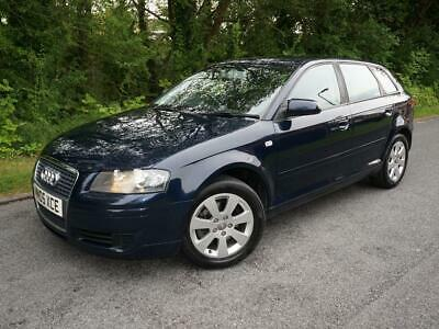 2005(05) Audi A3 2.0 Tdi Se 5 Door Hatchback 6 Speed Manual Diesel Moro Blue
