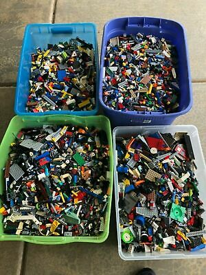 Huge Lego 100 pounds of Lego Bulk Lbs Mixed Themes Legos Lot #D