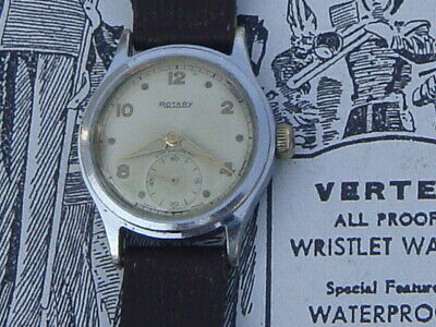 OFFICERS TRENCH WATCH Half Hunter 1918 WW1 35mm Sterling
