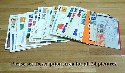 NETHERLANDS Antilles/Curacao FDC's, Postal History Selection. (21 Covers)