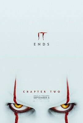 "It Chapter 2 two eyes Movie Poster 24"" x 36"" or 27"" x 40"""