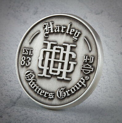 Harley Davidson Owners Group Monogram Hog Vest Pin  * New * Biker Jacket Pin