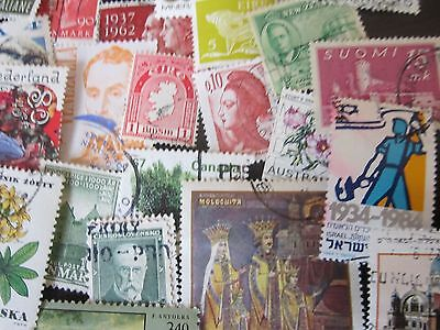 1000 Off Paper World-Wide Stamp Lot
