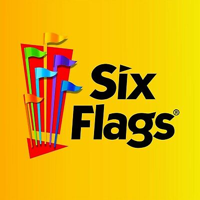 $68 2019 Six Flags Gold season pass valid at all parks. Free Parking E-Delivery.