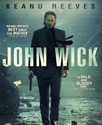 John Wick No DVD Digital Copy Movie Keanue Reeves READ