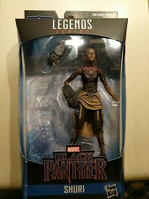 Marvel Legends Shuri Black Panther Avengers Endgame Action Figure No BAF