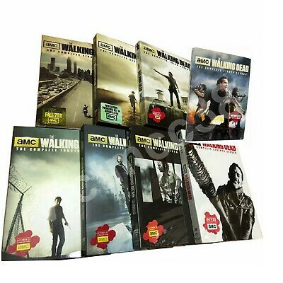 The Walking Dead Complete DVD Series Set Seasons New factory Sealed 1-8 USA