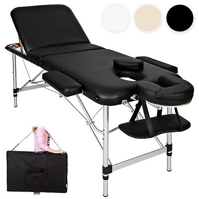 Lightweight Portable Aluminium Massage Table  Bench Therapy Beauty + bag new