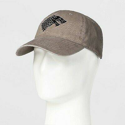 Game of Thrones Sigil Stark Calhoun Collectibles Snap-Back Dad cap (Grey Tan)
