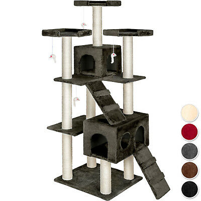 Cat Tree Scratcher Scratching Post Toy Activity Centre column complete sisal new