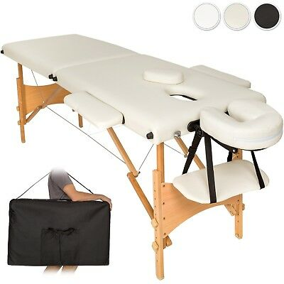 Lightweight portable massage table folding therapy beauty 2 zones + bag new new