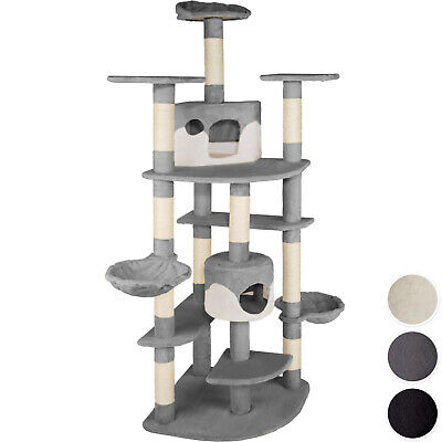 Cat Tree Scratcher Scratching Toy Activity Centre Sisal Climbing Tower new