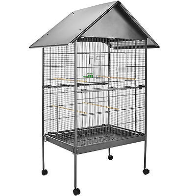 Large bird aviary cage on wheels parrot birds canary budgie birdcages  168x85x60