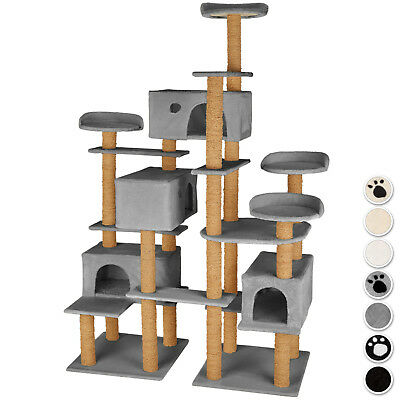 XXL Cat Tree Scratch Scratcher Tower Cats climbing Activity Centre play 2 bases