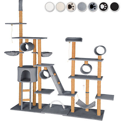 XXL Cat Tree Scratch Scratcher Tower Cats Climbing Ceiling height Tower play new