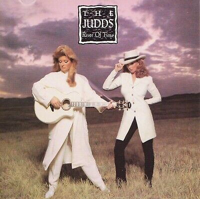 ♫ THE JUDDS Naomi & Wynonna - RIVER OF TIME - LIKE NEW - CD FREE U.S. SHIPPING ♫