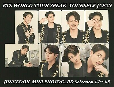 Bts Jungkook Love Yourself Speak Yourself Mini Photocard Japan Edition Offical