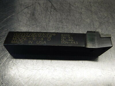 "Valenite 1"" Indexable Lathe Tool Holder MDQNL-16-4 (LOC908B)"