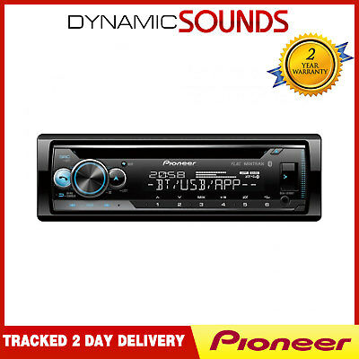 Pioneer DEH-S510BT CD MP3 Clavija Bluetooth USB IPHONE Android Listo Coche