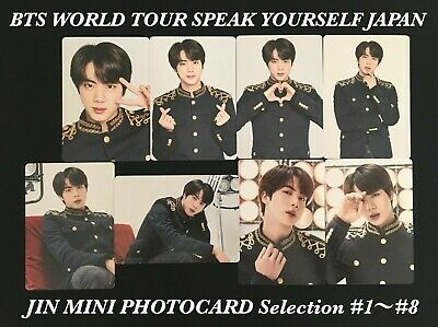 Bts Jin Love Yourself Speak Yourself Mini Photocard Japan Edition Offical Army