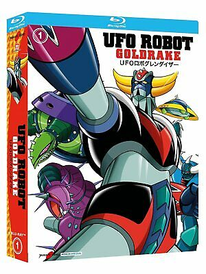 Ufo Robot. Goldrake vol.1 (2018) 4 Blu Ray