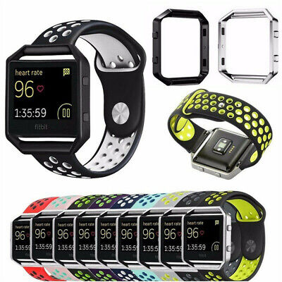 Replacement Sport Silicone Breathable Soft Strap Wristband Band For Fitbit Blaze