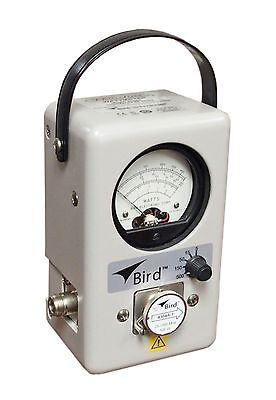 Bird 4304A THRULINE Single Element Wattmeter 25-1000 MHz 5/15/50/150/500 Watts