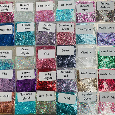 Chunky Festival Glitter 5g Face Eye Body Hair Tattoo Cosmetic Mixed Fine Glitter